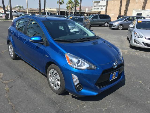 2015 Toyota Prius c for sale at Inland Auto Exchange in Norco CA