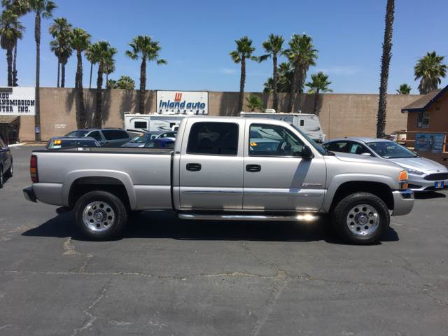 2004 GMC Sierra 2500 for sale at Inland Auto Exchange in Norco CA