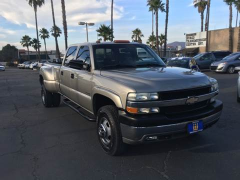 2002 Chevrolet Silverado 3500 for sale at Inland Auto Exchange in Norco CA