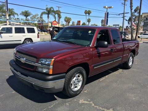 2003 Chevrolet Silverado 1500 for sale at Inland Auto Exchange in Norco CA
