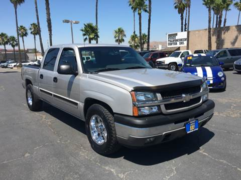 2005 Chevrolet Silverado 1500 for sale at Inland Auto Exchange in Norco CA