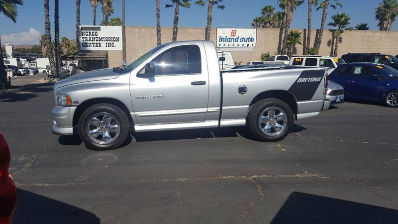 2005 Dodge Ram Pickup 1500 for sale at Inland Auto Exchange in Norco CA
