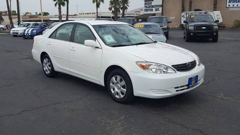 2004 Toyota Camry for sale at Inland Auto Exchange in Norco CA