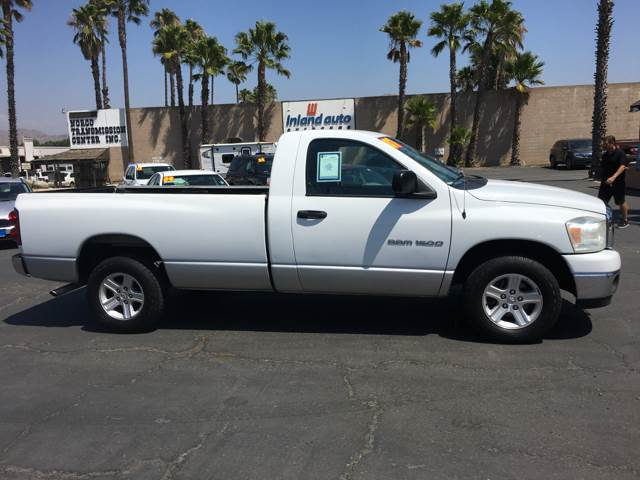 2007 Dodge Ram Pickup 1500 for sale at Inland Auto Exchange in Norco CA