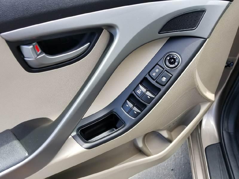 2016 Hyundai Elantra for sale at Inland Auto Exchange in Norco CA