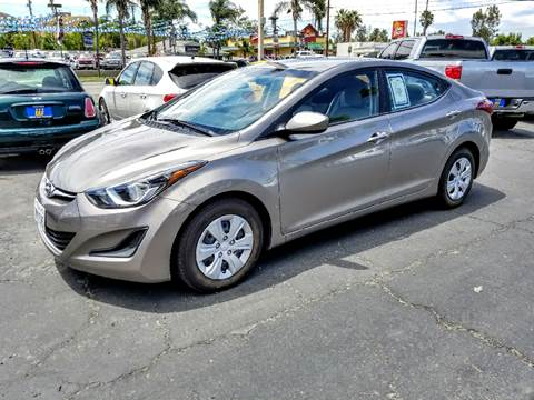 2016 Hyundai Elantra for sale at Inland Auto Exchange in Norco CA