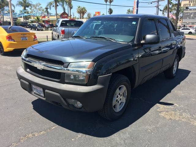 2003 Chevrolet Avalanche for sale at Inland Auto Exchange in Norco CA