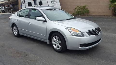 2007 Nissan Altima for sale at Inland Auto Exchange in Norco CA