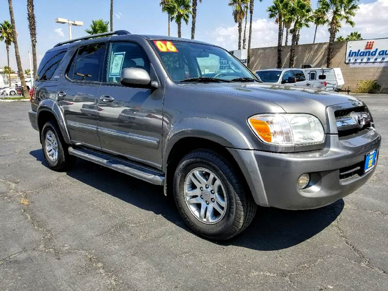 2006 Toyota Sequoia for sale at Inland Auto Exchange in Norco CA