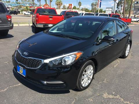 2015 Kia Forte for sale at Inland Auto Exchange in Norco CA