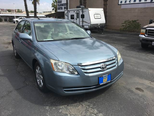 2007 Toyota Avalon for sale at Inland Auto Exchange in Norco CA
