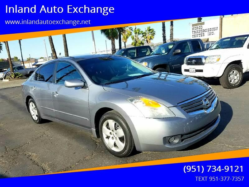 2008 Nissan Altima For Sale At Inland Auto Exchange In Norco CA