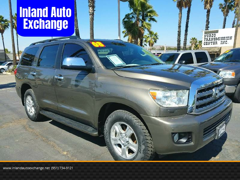 2008 Toyota Sequoia Limited In Norco Ca Inland Auto Exchange