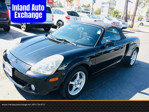 2005 Toyota MR2 Spyder For Sale In Norco, CA