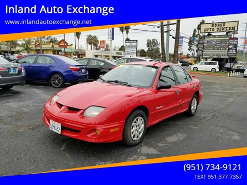 2000 Pontiac Sunfire for sale in Norco, CA