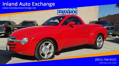 2003 Chevrolet SSR for sale in Norco, CA