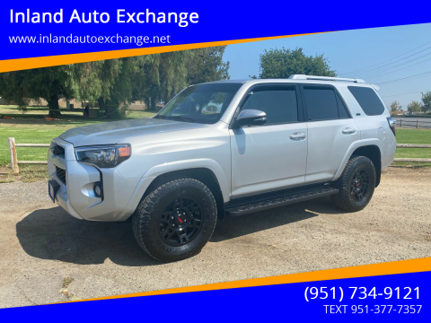2017 Toyota 4Runner for sale at Inland Auto Exchange in Norco CA