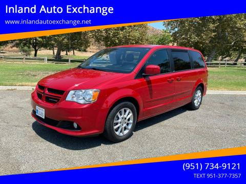 2013 Dodge Grand Caravan for sale at Inland Auto Exchange in Norco CA