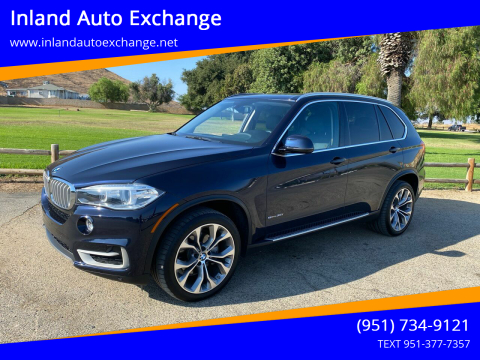 2014 BMW X5 for sale at Inland Auto Exchange in Norco CA