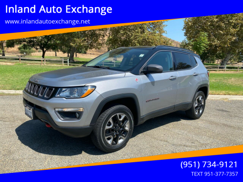 2017 Jeep Compass for sale at Inland Auto Exchange in Norco CA