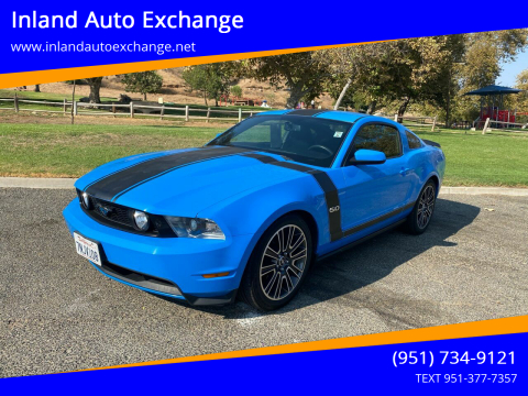 2012 Ford Mustang for sale at Inland Auto Exchange in Norco CA
