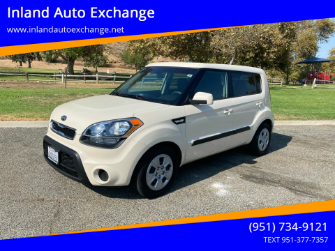 2012 Kia Soul for sale at Inland Auto Exchange in Norco CA