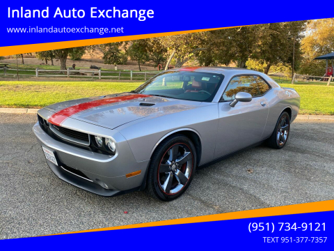 2014 Dodge Challenger for sale at Inland Auto Exchange in Norco CA