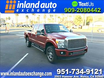 2015 Ford F-250 Super Duty for sale at Inland Auto Exchange in Norco CA