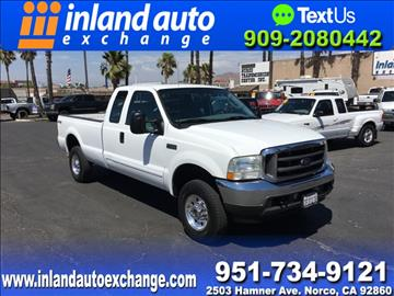2003 Ford F-250 Super Duty for sale at Inland Auto Exchange in Norco CA
