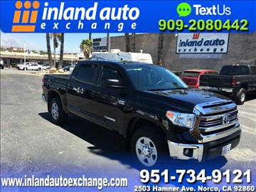 2016 Toyota Tundra for sale at Inland Auto Exchange in Norco CA