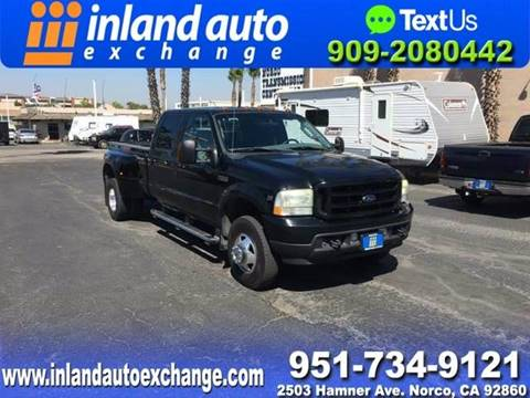 2004 Ford F-350 Super Duty for sale at Inland Auto Exchange in Norco CA