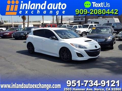 2013 Mazda MAZDASPEED3 for sale at Inland Auto Exchange in Norco CA