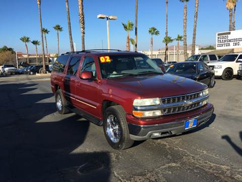 2002 Chevrolet Suburban for sale in Norco, CA