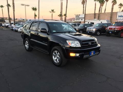 2004 Toyota 4Runner for sale at Inland Auto Exchange in Norco CA