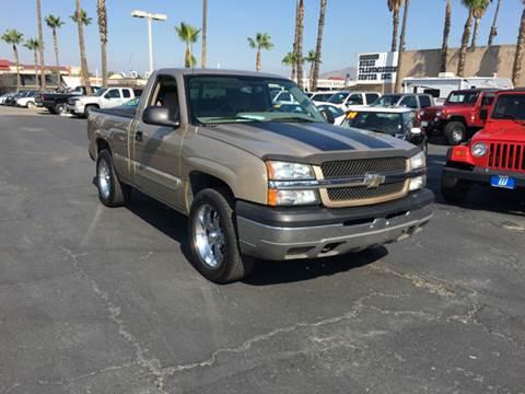 2004 Chevrolet Silverado 1500 for sale at Inland Auto Exchange in Norco CA