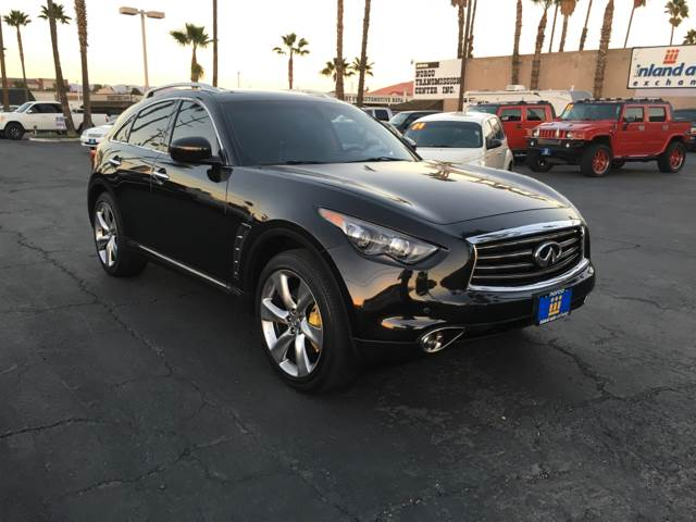 2012 Infiniti FX50 for sale at Inland Auto Exchange in Norco CA