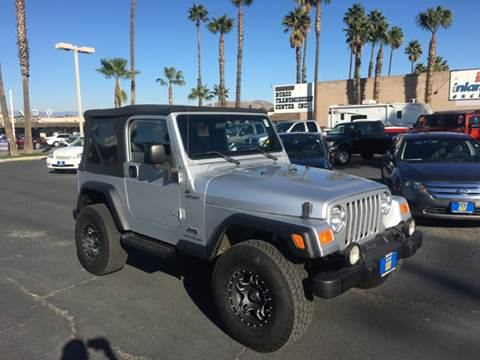 2004 Jeep Wrangler for sale at Inland Auto Exchange in Norco CA