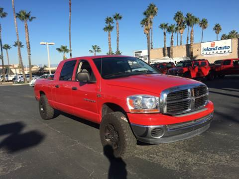 2006 Dodge Ram Pickup 2500 for sale at Inland Auto Exchange in Norco CA
