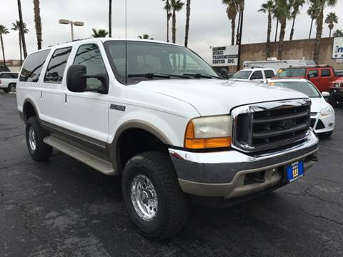 2001 Ford Excursion for sale at Inland Auto Exchange in Norco CA