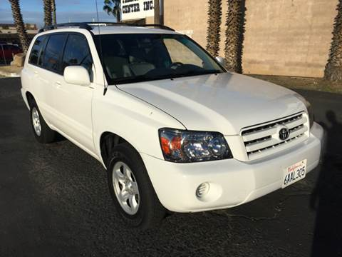 2007 Toyota Highlander for sale at Inland Auto Exchange in Norco CA