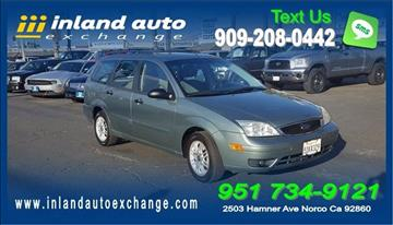 2006 Ford Focus for sale at Inland Auto Exchange in Norco CA
