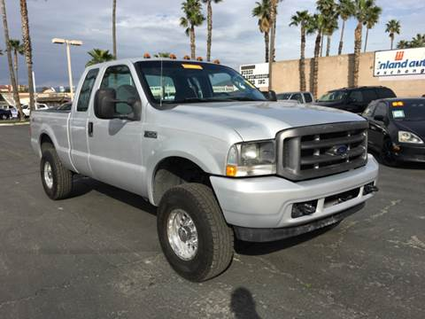 2004 Ford F-250 Super Duty for sale at Inland Auto Exchange in Norco CA