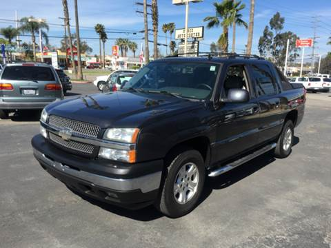 2006 Chevrolet Avalanche for sale at Inland Auto Exchange in Norco CA