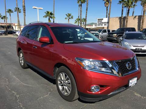 2015 Nissan Pathfinder for sale at Inland Auto Exchange in Norco CA