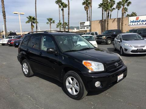 2004 Toyota RAV4 for sale at Inland Auto Exchange in Norco CA