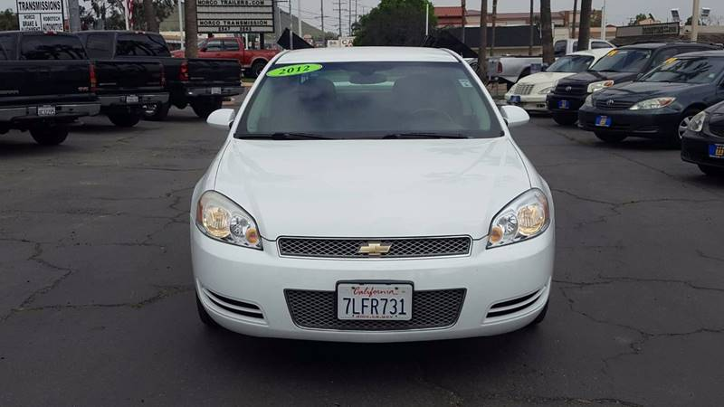 2012 Chevrolet Impala for sale at Inland Auto Exchange in Norco CA