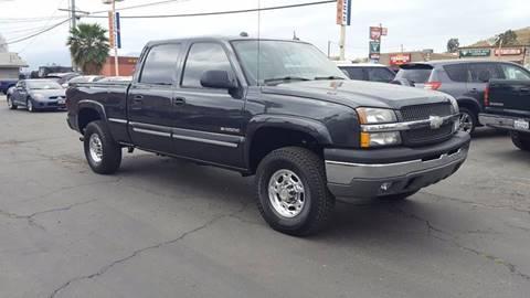 2005 Chevrolet Silverado 1500HD for sale at Inland Auto Exchange in Norco CA