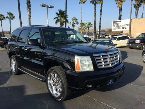 2004 Cadillac Escalade for sale at Inland Auto Exchange in Norco CA