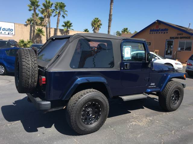 2005 Jeep Wrangler for sale at Inland Auto Exchange in Norco CA