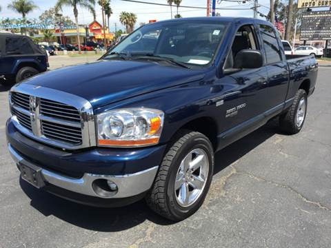 2006 Dodge Ram Pickup 1500 for sale at Inland Auto Exchange in Norco CA